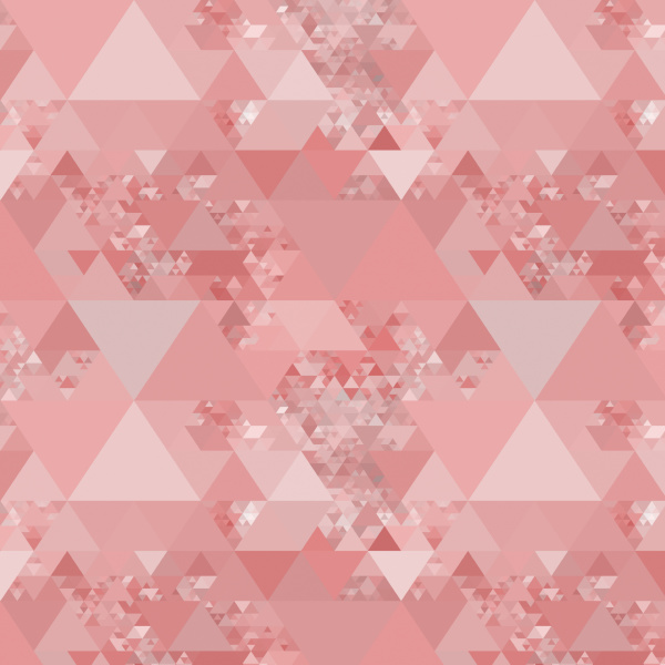 allover triangle pattern in pastel colors
