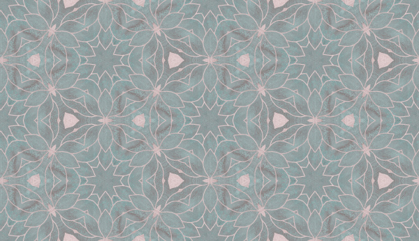 allover pattern tile in grey and