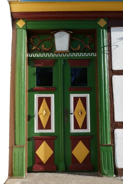 old front door harz