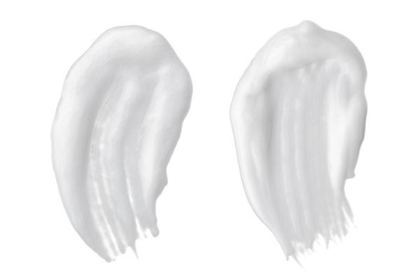 white cream sample