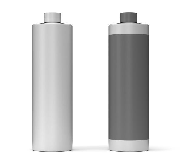 blank gray package