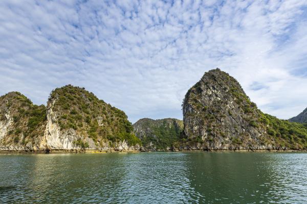 the halong bay of vietnam