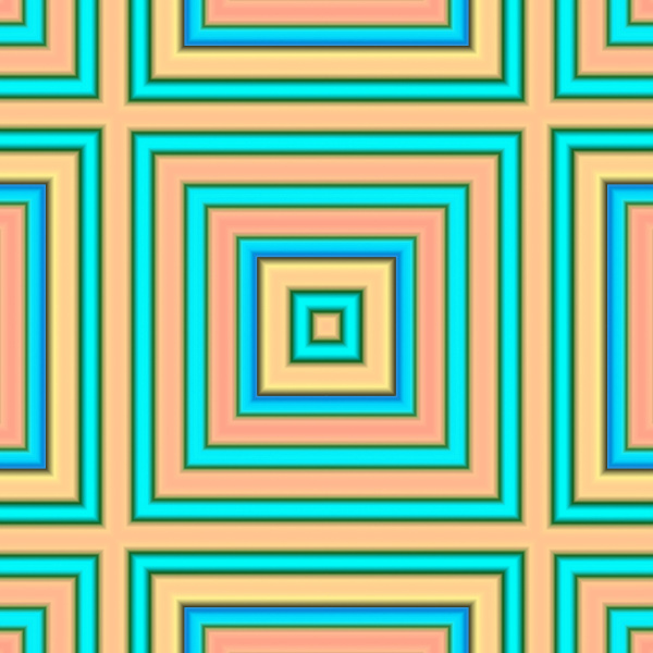yellow teal allover repeating pattern tile