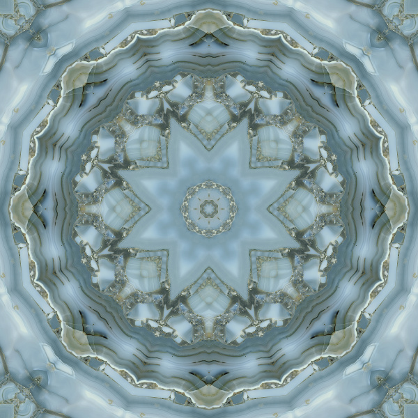 gemstone kaleidoscope allover pattern tile