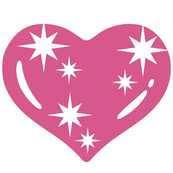 heart shiny pink emotion romance love