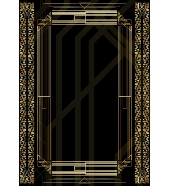 luxury geometric background