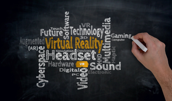 virtual reality is written by hand