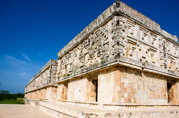 governors palace at uxmal mexico