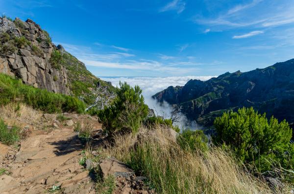 from mountain pico arieiro to pico