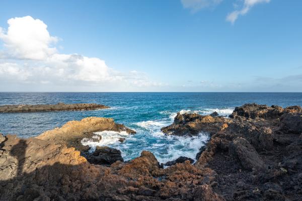 coast on lanzarote