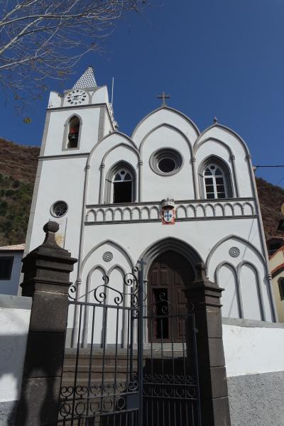 church in jardim do mar madeira