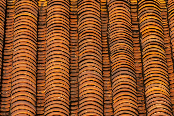 red, roof, tiles, as, background - 28215499