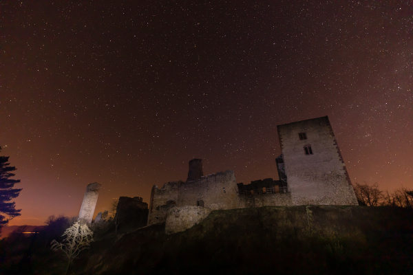 the, ruine, of, brandenburg, castle, at - 28215474