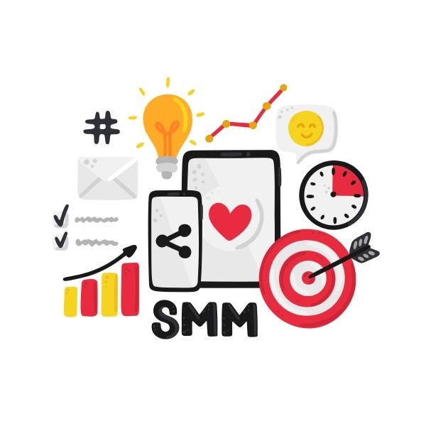 vector, smm, elements., social, media, marketing. - 28216405