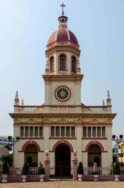 santa cruz portuguese church in bangkok