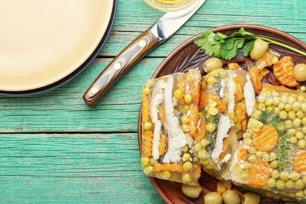 appetizing, jellied, fish. - 28217822