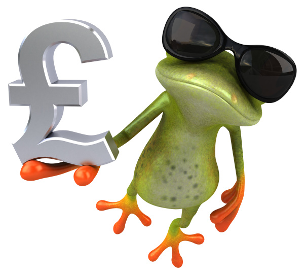 fun, frog, -, 3d, illustration - 28217394