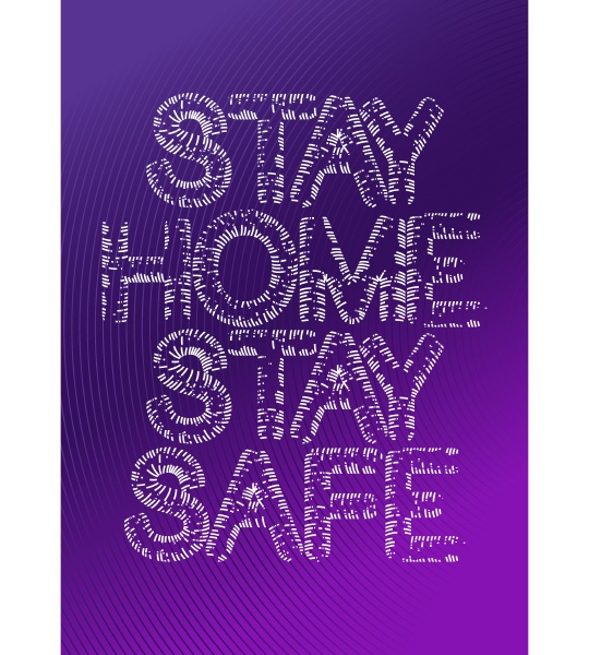 stay, home, stay, safe, sign, with - 28217010