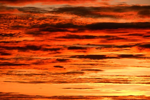 sunrise in the province of alicante