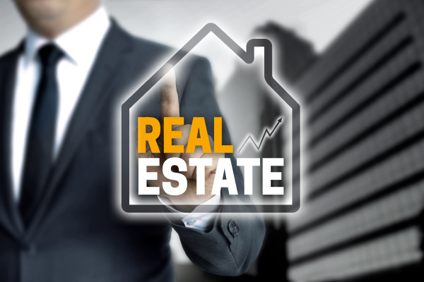 real estate touchscreen is operated by