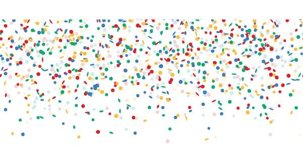 falling, confetti, endless - 28238463