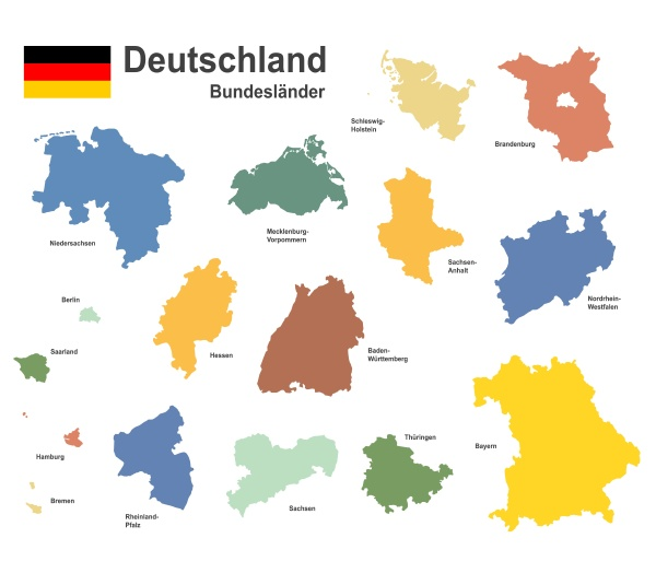 germany, and, federal, states - 28238972