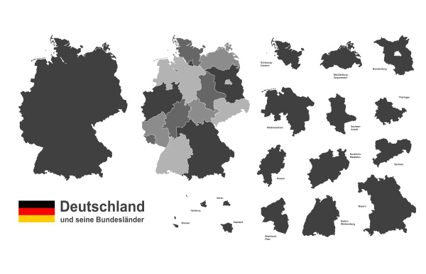 germany, and, federal, states - 28238978