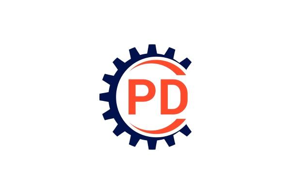 p, d, , pd, initial, letter, logo - 28238528