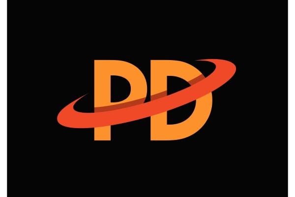 p, d, , pd, initial, letter, logo - 28238839
