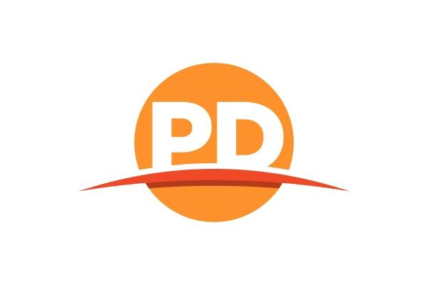p, d, , pd, initial, letter, logo - 28238840