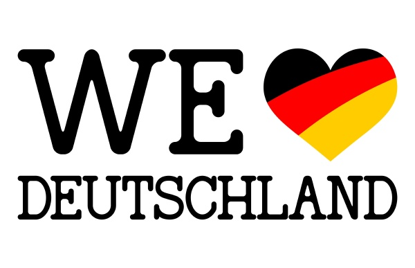we, love, germany, sign - 28238603