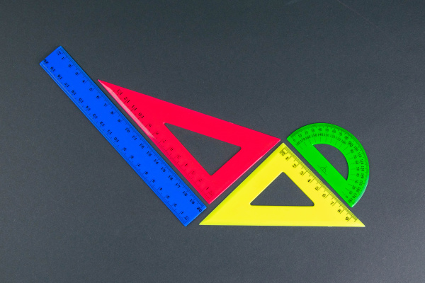 back, to, school, , multicolored, rulers - 28239564