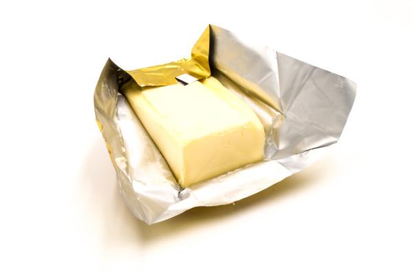 block, of, rectangular, fresh, butter, with - 28239434