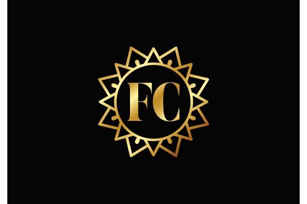 f, c., fc, initial, letter, logo - 28239952