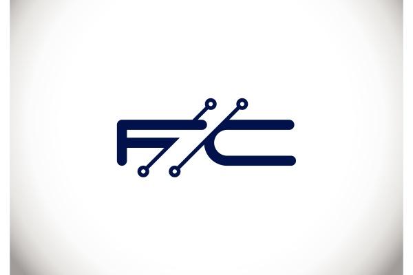 f, c., fc, initial, letter, logo - 28239973