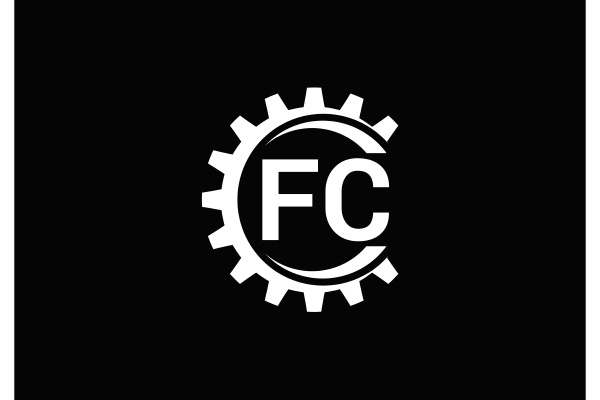 f, c., fc, initial, letter, logo - 28239978