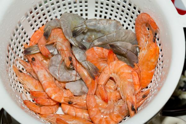 fresh, raw, shrimps, - 28239243