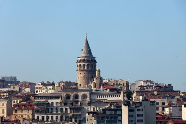 galata, tower, in, beyoglu, district, of - 28239059
