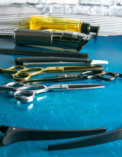 hairdressing, tools, , scissors, , hair, clipper, , comb, - 28239362