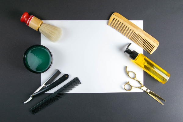 scissors, , hair, clipper, , combs, , dangerous, razor, - 28239820