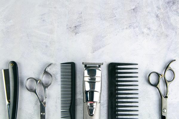 scissors, , hair, clipper, , combs, , dangerous, razor - 28239859