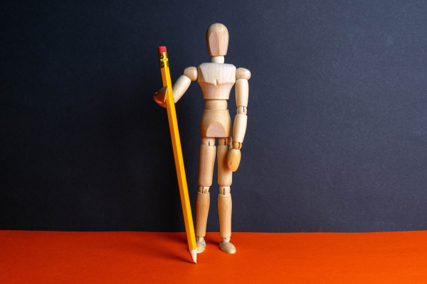 the, figure, of, a, wooden, man - 28239351