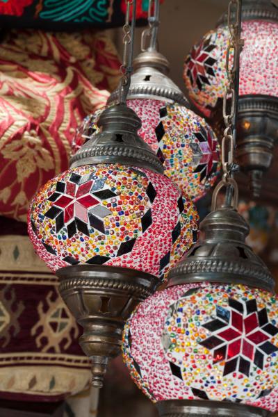 traditional, vintage, turkish, lamp, - 28239125