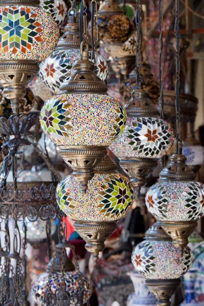 traditional, vintage, turkish, lamp, - 28239490