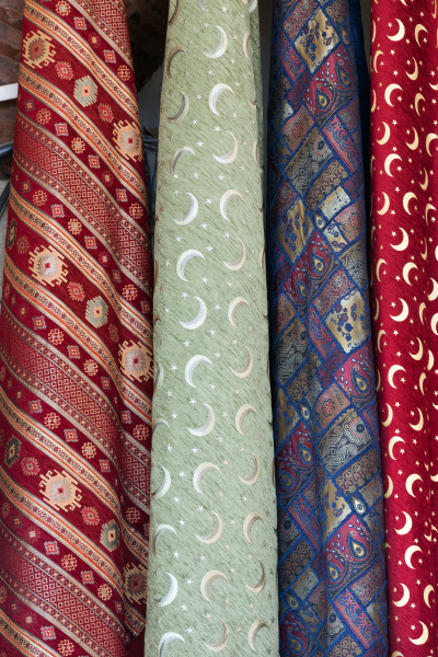 turkish, colourful, fabrics, from, the, silk - 28239076
