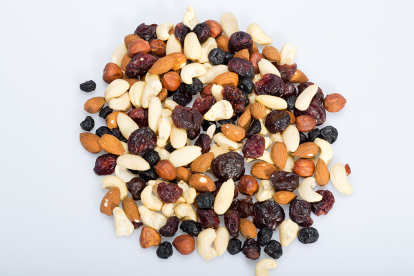 , mixed, nuts, and, dried, fruits - 28240290