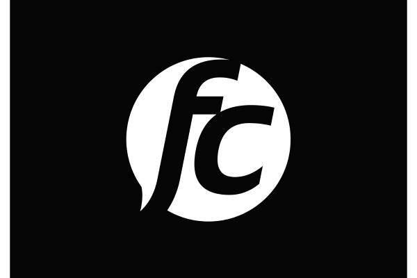 f, c., fc, initial, letter, logo - 28240007