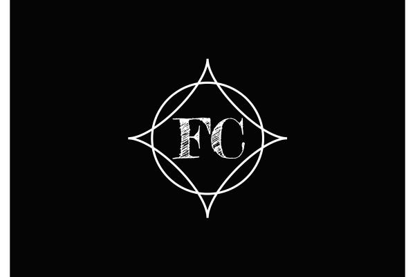 f, c., fc, initial, letter, logo - 28240127