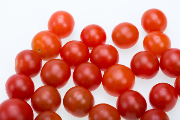 fresh, ripe, cherry, tomatoes, isolated, on - 28240399