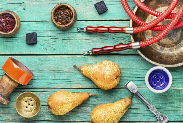 pear, shisha, tobacco. - 28240232